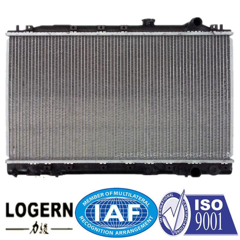 MITSUBISHI Car Engine Radiator For Lancer / Mirage / Col 1987-1991 Open Type