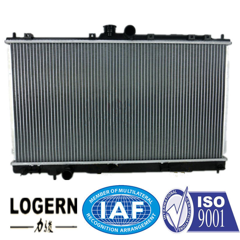 1996 Mitsubishi Lancer Radiator Replacement , Fin Tube Radiator 375*688*16mm Core